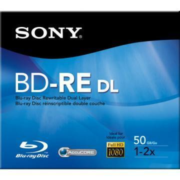 Sony Blu-ray DL 2x 50GB Rewritable Disk