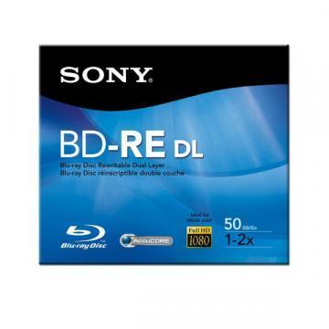 Sony Blu-Ray Disc 50GB Recordable Dual Layer 4x