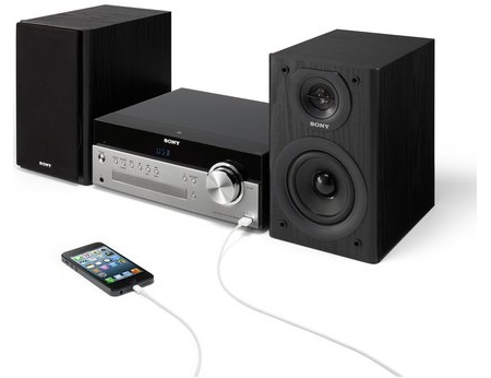 Sony CMT-SBT100 Micro Music System with Bluetooth