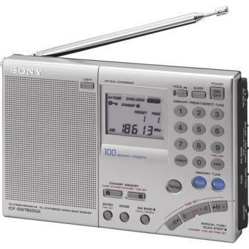 Sony FM Stereo Multi-Band World Band Receiver Radio