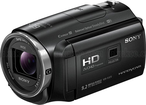 Sony HDR-PJ670 Full HD Camcorder w/ built-in Projector