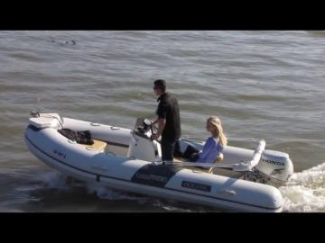 AdvanceBoat Ocean Blue RIB 440 Boat