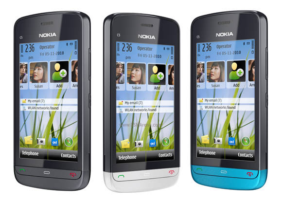 Nokia C5-03 mobile phone