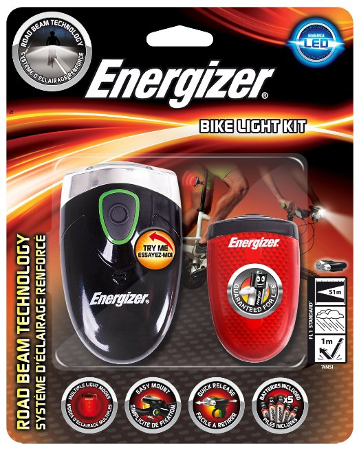 Energizer LED Bicycle Light Set
