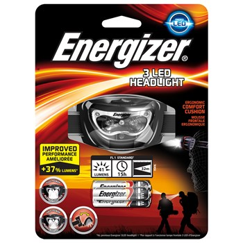 Energizer 3 LED HeadTorch