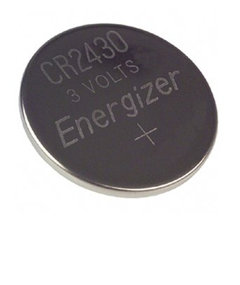 Energizer CR2430 Lithium Manganese Dioxide 3V Battery