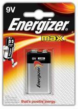 Energizer 9V Alkaline Max Battery 1pack