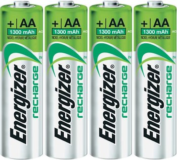 Energizer HR06 AA 1.2V 1300mAh Rechargeable Battery 4pack