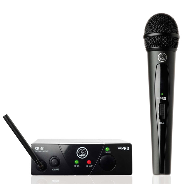 AKG WMS40 ISM3 Handheld Wireless Microphone