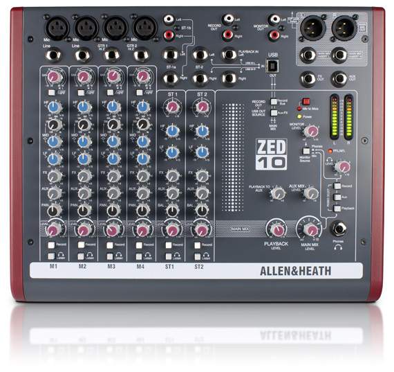 Allen & Heath ZED10 Mixing Console