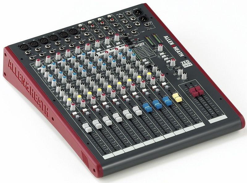 Allen & Heath ZED12FX USB & FX Mixing Console