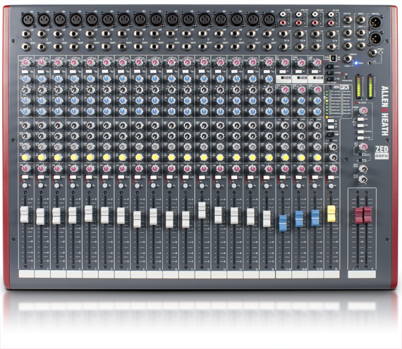 Allen & Heath ZED22FX 16:3 USB & FX Mixing Console