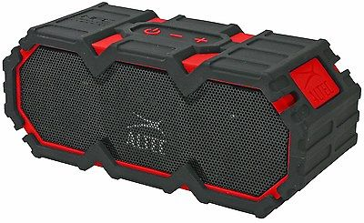 Altec Lansing Red Life Jacket Rugged Bluetooth Wireless Speaker