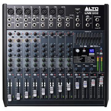 ALTO LIVE1202 12 Channel Mixer with Effects & USB