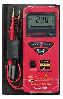 Amprobe DM78C Pocket Digital Miltimeter