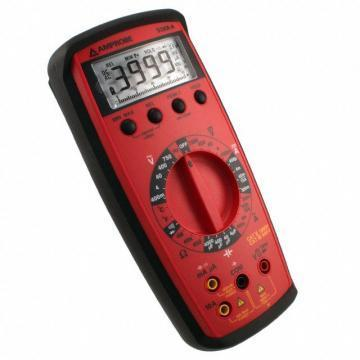 Amprobe 33XR-A Handheld Manual Ranging Digital Multimeter with Temperature