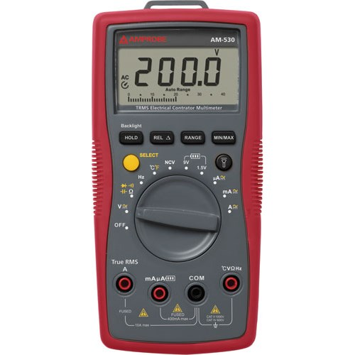 Amprobe AM-530-EUR Handheld True RMS Digital Multimeter