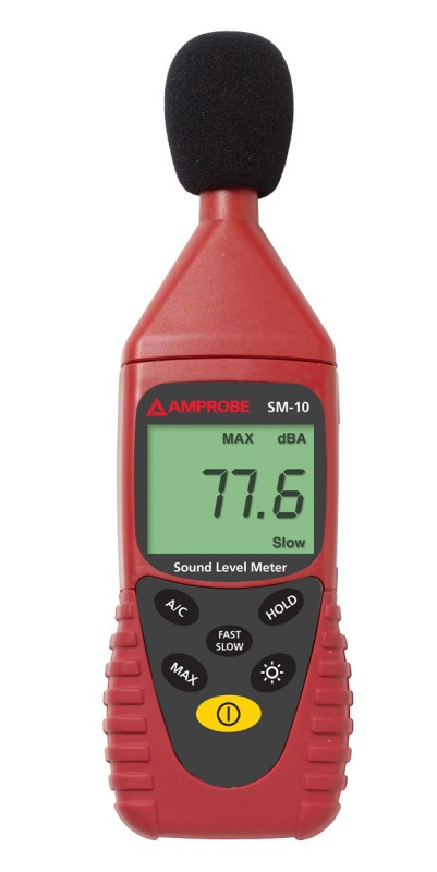 Amprobe SM-10 31.5Hz - 8KHz Sound Level Meter