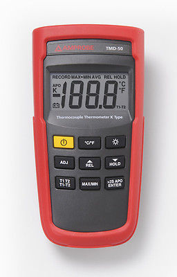 Amprobe TMD-50 Type K Digital Thermometer