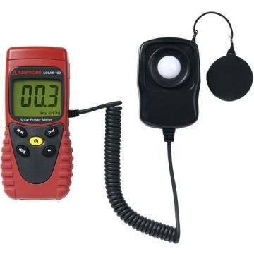 Amprobe SOLAR-100 Solar Power Meter with Data Hold Function