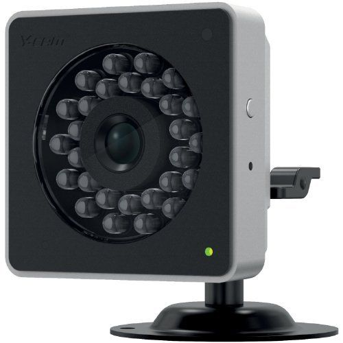 Y-Cam Cube HD 720 Black IP Camera