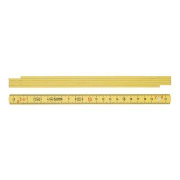 Wiha Longlife folding metre rule, 1 m, metric, 5 segments