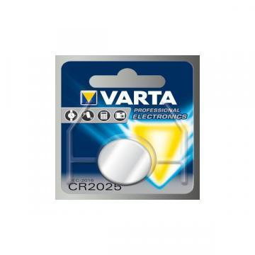 Varta Lithium Manganese Dioxide, 170 mAh, 3 V, CR2025 Battery