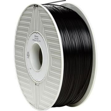Verbatim ABS Filament 1.75MM, 1KG Reel, Black