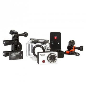 Vivitar DVR794HD Silver Full-HD Action Camera with WiFi