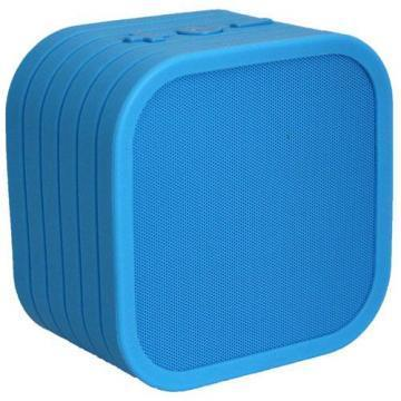Vivitar Blue Neon Cube Wireless Bluetooth Speaker