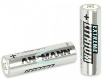 Ansmann Lithium Iron Disulphide, 3000 mAh, 1.5 V, AA Battery