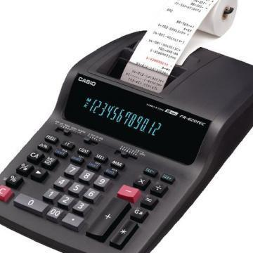 Casio FR-620TEC-B-UH Printing Calculator