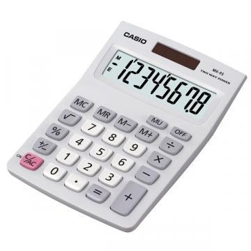 Casio MX-8S Calculator silver