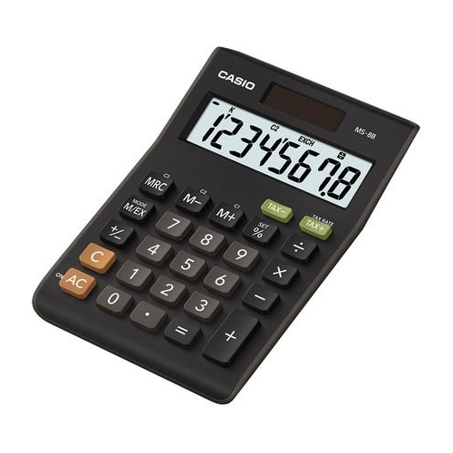 Casio MX-8S Calculator black
