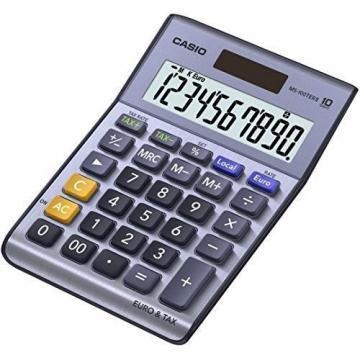 Casio MS-100TERII 10 Digit Desktop Calculator