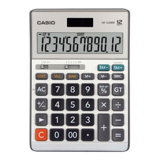 Casio MS-120BM 12 Digit Desktop Calculator