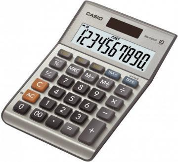 Casio MS-100BM 10 Digit Desktop Calculator