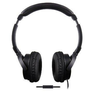 TDK T32842 Stereo Headphones with In-Line Mic+Remote