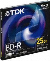 TDK 4x BD-R Media Jewel Case