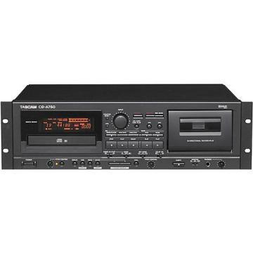 TASCAM CD-A750 CD/Cassette Player Rackmount