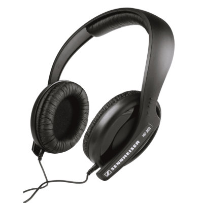 Sennheiser HD202 MKII Over Ear DJ Headphones