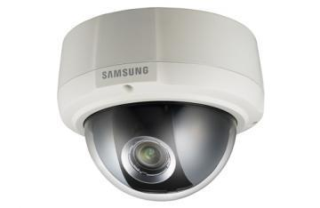 Samsung Techwin 700TVL 960H Analog Varifocal Dome Camera