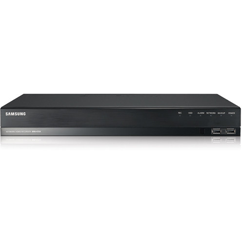 Samsung Techwin 4-Channel POE Network Video Recorder, 1TB HDD