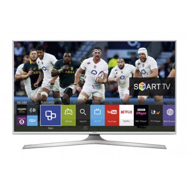 "Samsung 48"" White Smart Full-HD LED TV with WiFi"