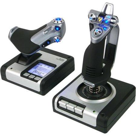Saitek X52 + Throttle Joystick