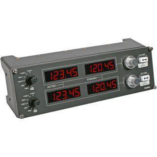 Saitek Pro Flight Radio Panel with LED Display