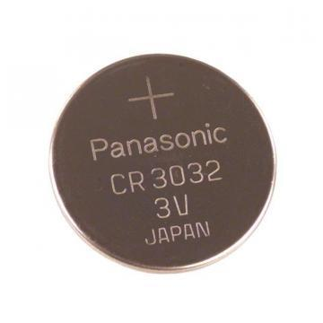 Panasonic Lithium Manganese Dioxide, 500 mAh, 3 V, CR3032 Battery