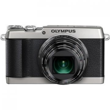 Olympus Silver Stylus Traveller SH-1 16MP Digital Camera