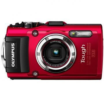 Olympus Stylus Tough TG-3 16MP Red Digital Camera