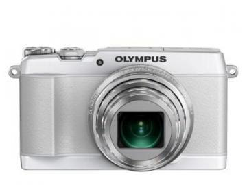 Olympus White Stylus Traveller SH-1 16MP Digital Camera